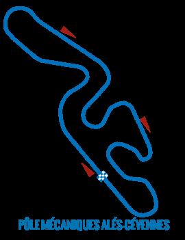Circuit Alès - Roulage moto