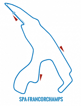 Circuit Spa Francorchamps - Comfort Pack
