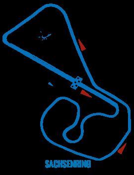 Circuit Sachsenring - Roulage moto