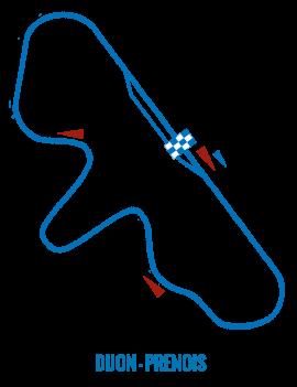 Circuit Dijon-Prenois - Roulage moto