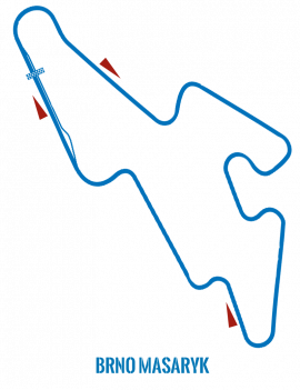 Circuit Brno Masaryk - Roulage moto (Box inclus)