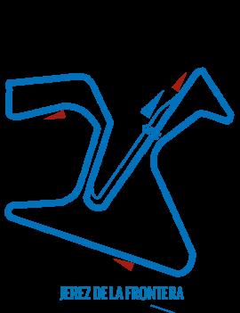 Circuit Jerez de la frontera - Roulage moto