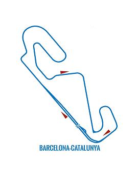 Circuit moto Barcelone
