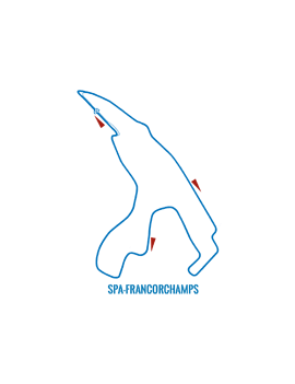 SPA FRANCORCHAMPS MOTORCYCLE CIRCUIT 12/13 June 2020